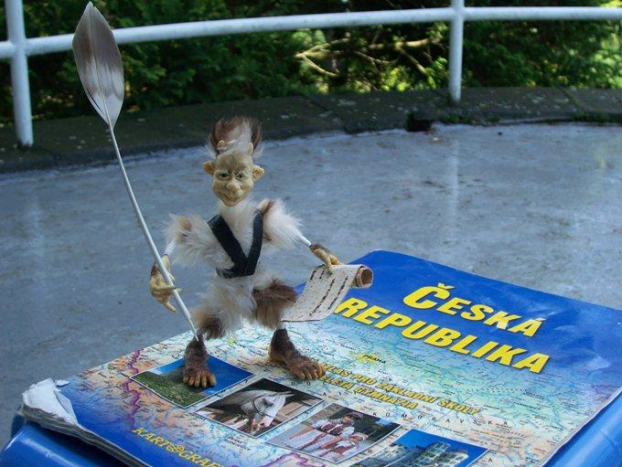Цурин Борис. Скржтиток-школьник, КУКЛА на каркасе, высота 10см