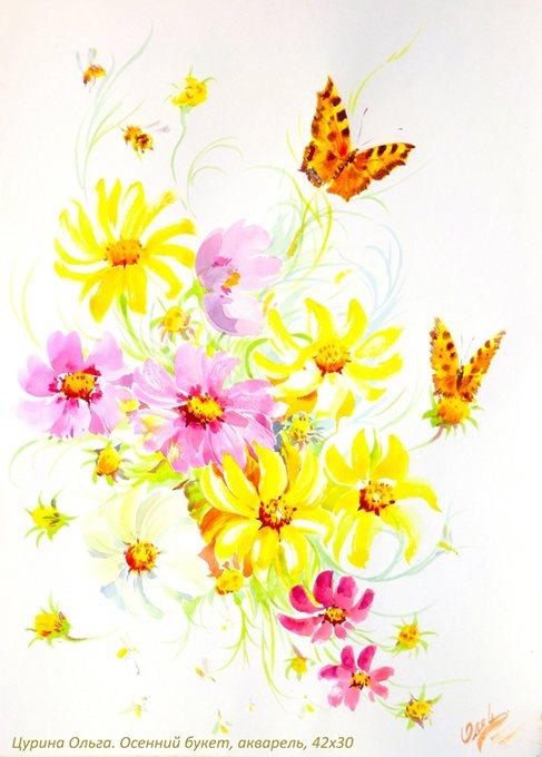 насекомые в живописи: