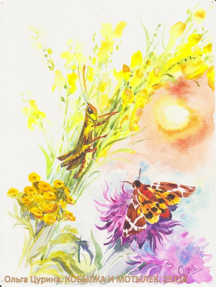 Картинки и рисунки акварелью 187